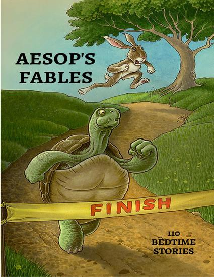 Aesop's Fables - Bedtime Stories (Illustrated) - cover