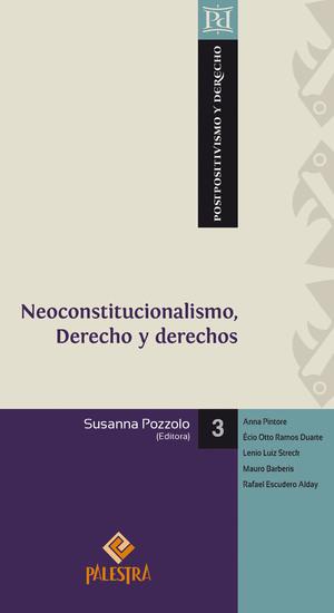 Neoconstitucionalismo Derecho y derechos - cover