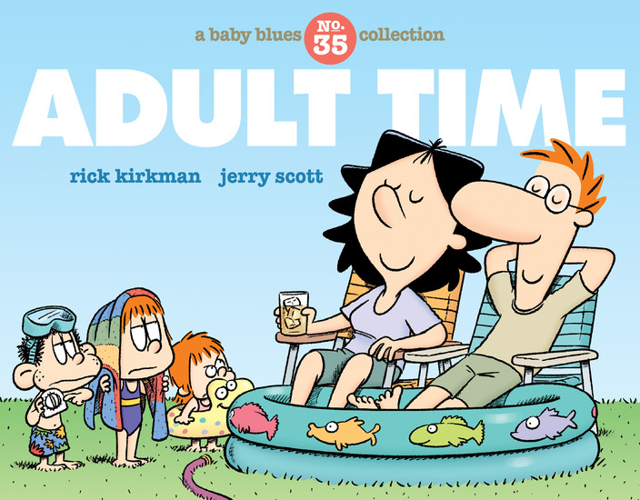Adult Time - A Baby Blues Collection - cover