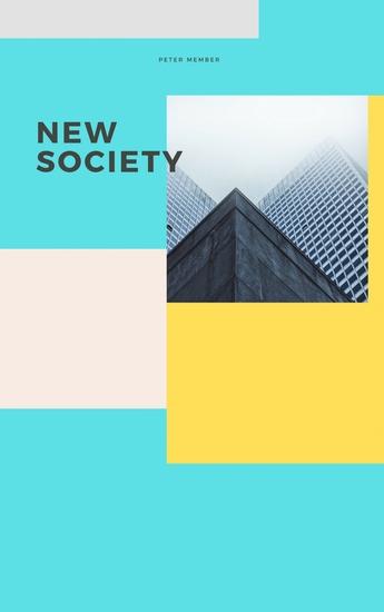 New society - cover