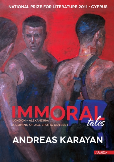 Immoral Tales - London - Alexandria: a coming of age erotic odyssey - cover