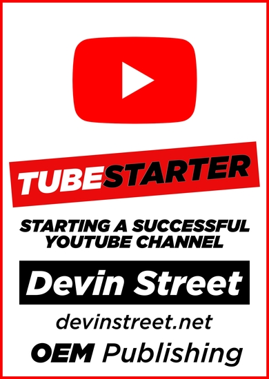 TubeStarter: Starting A Successful YouTube Channel - cover