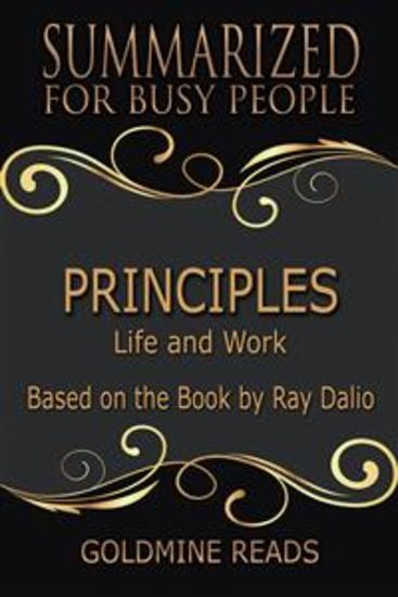 Principles - Summarized for Busy People - Life and Work: Based on the Book by Ray Dalio - cover