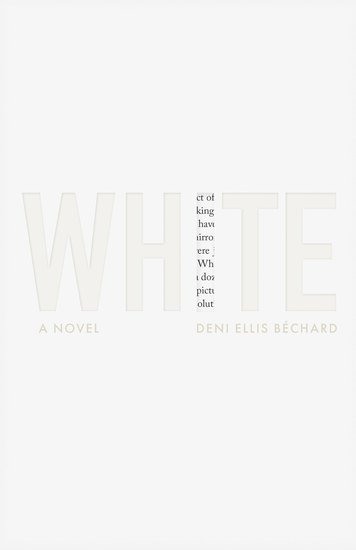 White - A Novel - cover