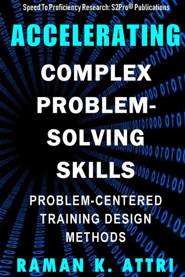 Accelerating Complex Problem-Solving Skills - Problem-Centered Training Design Methods - cover