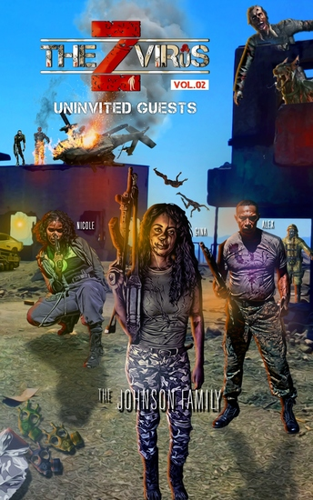 The Z Virus Volume 2 - Uninvited Guests - cover