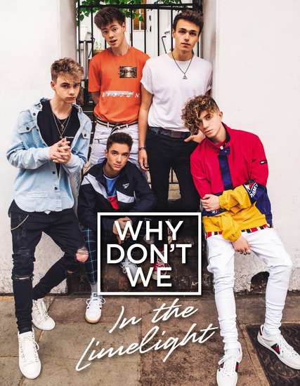 Why Don't We: In the Limelight - cover