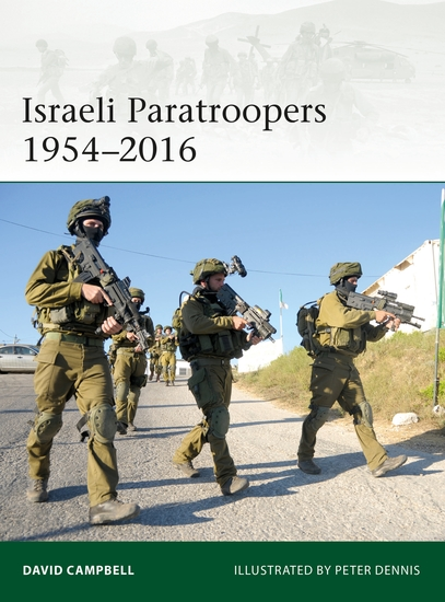 Israeli Paratroopers 1954–2016 - cover