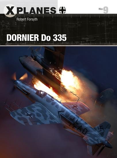 Dornier Do 335 - cover