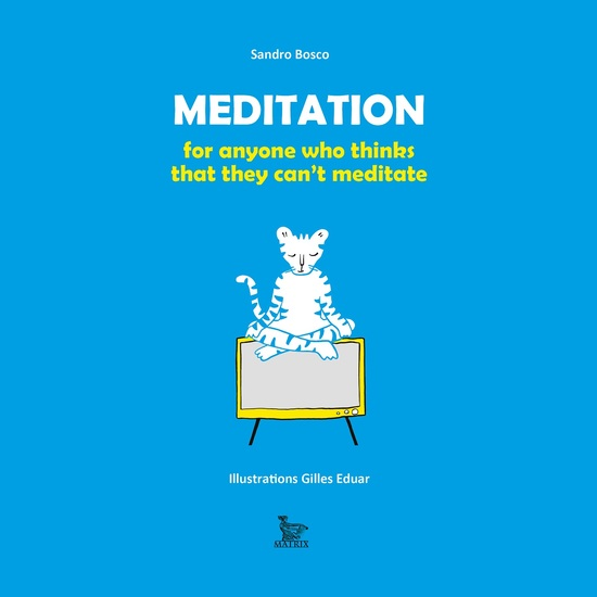 Meditation for everyone who think can't meditate - cover