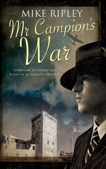 Mr Campion's War - cover