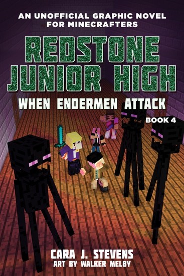 When Endermen Attack - Redstone Junior High #4 - cover