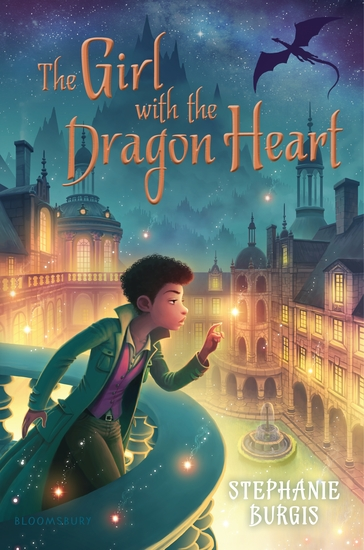 The Girl with the Dragon Heart - cover