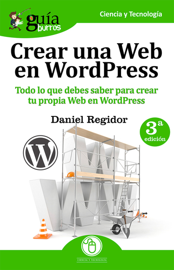 GuíaBurros: Crear una Web en WordPress - Todo lo que debes saber para crear tu propia Web en WordPress - cover