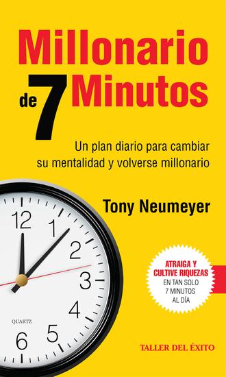 Millonario de 7 minutos - Un plan diario para cambiar su mentalidad y volverse millonario - cover