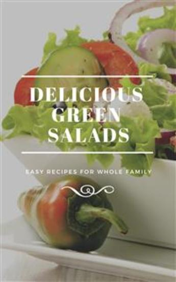 Delicious Green Salads - cover