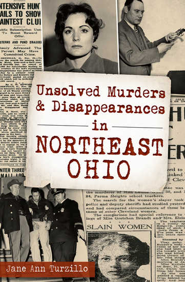 Unsolved Murders & Disappearances in Northest Ohio - cover