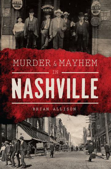 Murder & Mayhem in Nashville - cover