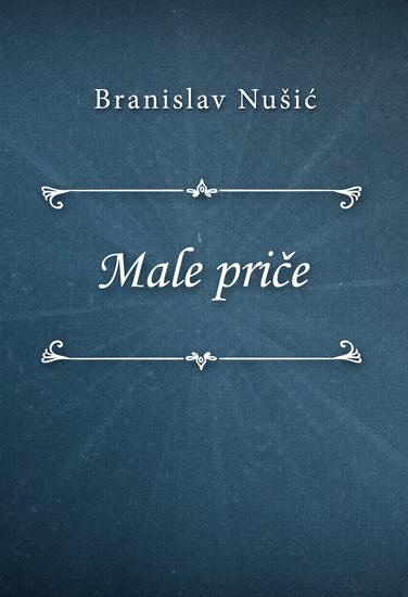 Male priče - cover