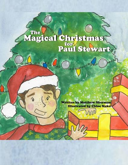 A Magical Christmas for Paul Stewart - cover