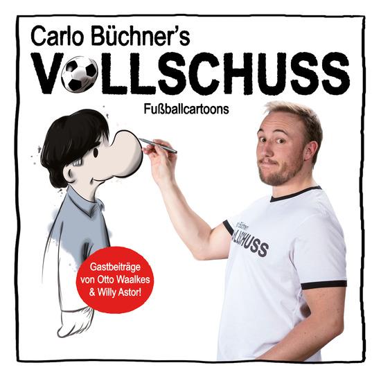 Vollschuss - Fußballcartoons - cover