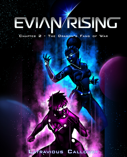 Evian Rising Chapter 2 - The Dragon's Fang of War - cover