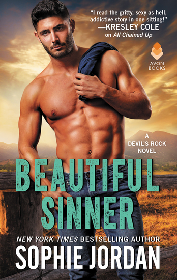 Beautiful Sinner - A Devil's Rock Novel - cover