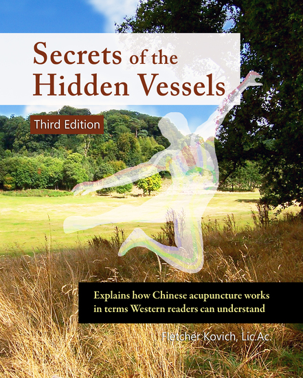 Secrets of the Hidden Vessels - Explains how Chinese acupuncture works in terms Western readers can understand - cover