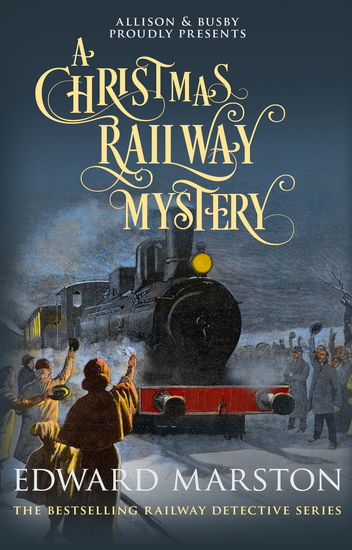 A Christmas Railway Mystery - cover