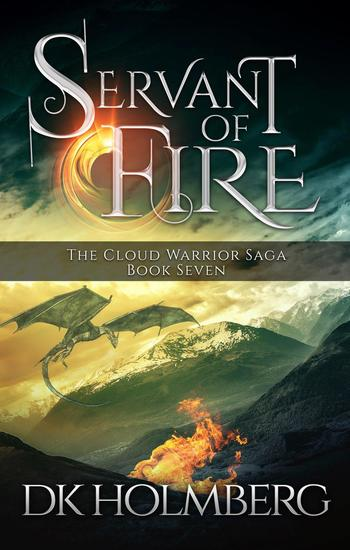 Servant of Fire - The Cloud Warrior Saga #7 - cover