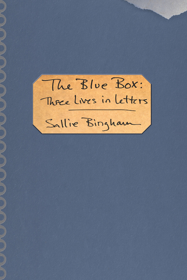 The Blue Box - Three Lives in Letters - cover