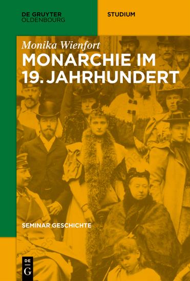 Monarchie im 19 Jahrhundert - cover
