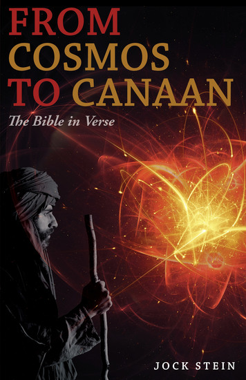 From Cosmos to Canaan - The Bible in Verse - cover