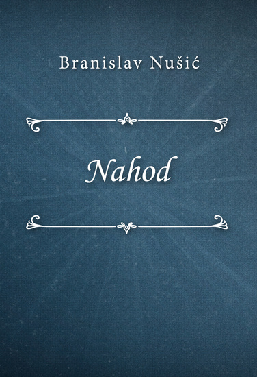 Nahod - cover