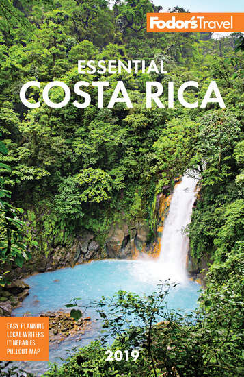 Fodor's Essential Costa Rica 2019 - cover