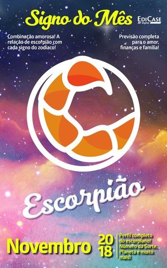 Signo do Mês Ed 05 - Escorpião - Escorpião - Novembro 2018 - cover