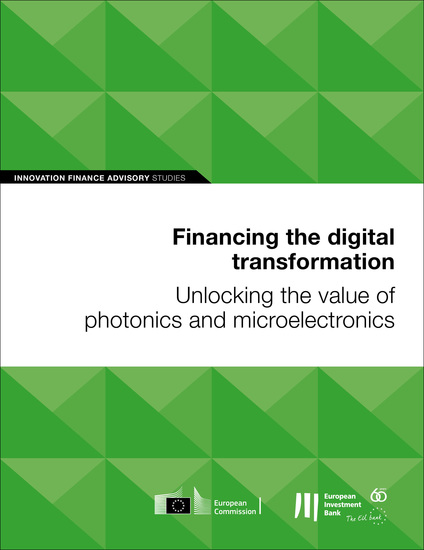 Financing the digital transformation: Unlocking the value of photonics and microelectronics - cover