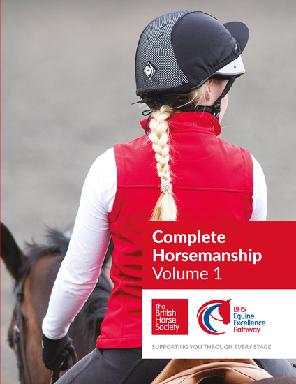 BHS Complete Horsemanship Volume One - cover