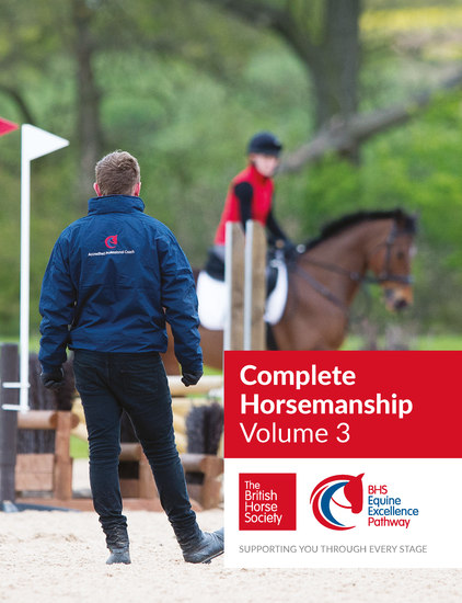 BHS Complete Horsemanship Volume Three - cover