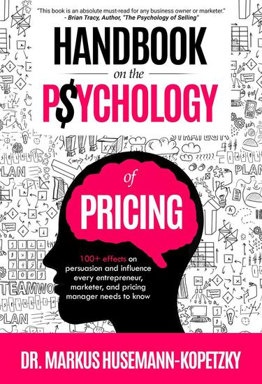 Handbook on the Psychology of Pricing - cover