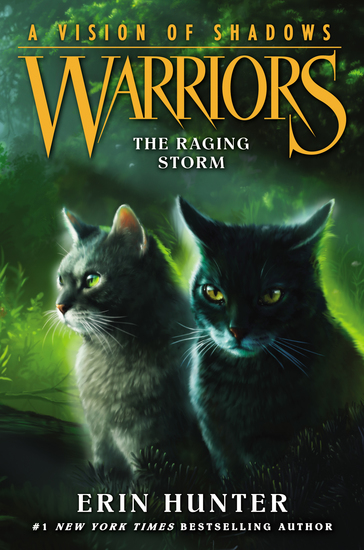 Warriors: A Vision of Shadows #6: The Raging Storm - cover