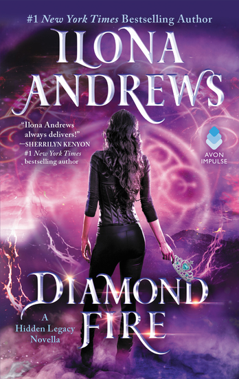 Diamond Fire - A Hidden Legacy Novella - cover