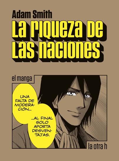 La riqueza de las naciones - el manga - cover