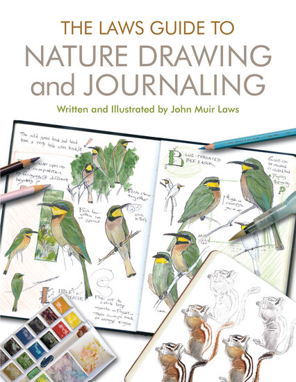 The Laws Guide to Nature Drawing and Journaling - cover