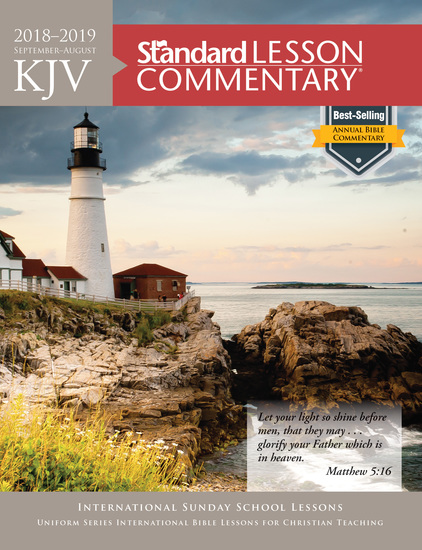 KJV Standard Lesson Commentary® 2018-2019 - cover