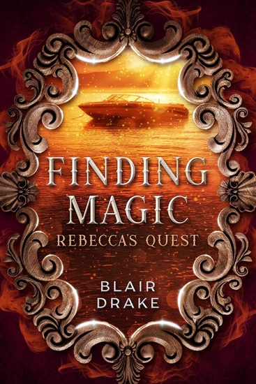 Rebecca's Quest - A Finding Magic Novel Book 8 - cover