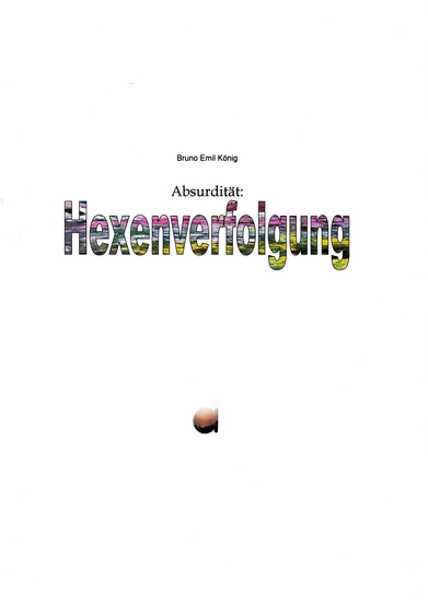 Absurdität: Hexenverfolgung - cover