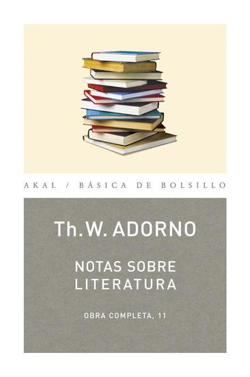 Nota sobre Literatura - cover