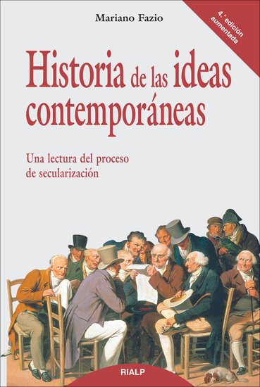 Historia de las ideas contemporáneas - cover