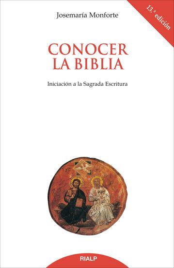 Conocer la Biblia Iniciación a la Sagrada Escritura - cover